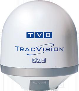 Antena na jacht TracVision® TV8